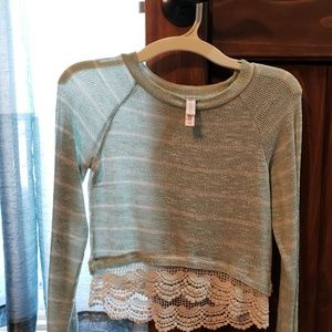 Girls knit sweater